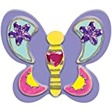 Melissa & Doug Created by Me! Butterfly Magnets (Arts & Crafts, Easy to Assemble, Supplies for 4 Projects, 22.225 cm H x 12.7 cm W x 2.54 cm L)