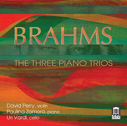 Brahms:Three Piano Trios  [David Perry; Paulina Zamora; Uri Vardi] [DELOS : DE 3489]