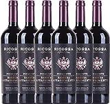 VINELLO 12er Weinpaket Rotwein - Barbera Appassimento DOC 2018 - Ricossa mit...