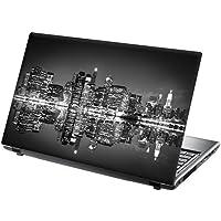 """TaylorHe Laptop Skin Pegatina de vinilo Adhesivo para portátiles 15,6"""" 15"""" (38cm x 25,5cm) Productos de Gran Bretaña paisaje urbano nocturno"""