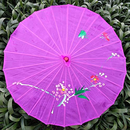 Ombrelli per decorazioni nozze ombrello decorativo in carta oleata con ombrello, danza del vento, oggetti di scena in seta cinese