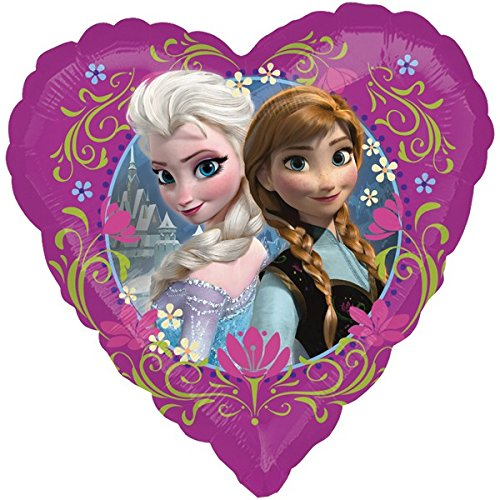 1 Folienballon - Frozen - Die Eiskönigin Freundschaft ++ High Quality - Premiumline Luftballons ++...