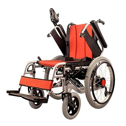 TWL-Wheelchair Zusammenklappbarer Elektrorollstuhl, Polymer-Li-Ionen-Akku (20 A) - für Ältere und Behinderte Menschen -