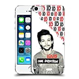 Head Case Designs Offizielle One Direction Louis Grau Filter Solo Poster Ruckseite Hülle für iPhone 5 iPhone 5s iPhone SE