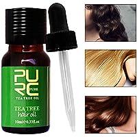Aceite esencial Tea Tree, 10ml natural y Bio Aceite Esencial Árbol de Té para cabello y cuidado de la piel