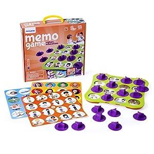 Miniland- Memo Game, Juego de Memoria para la educación en valores (31925)