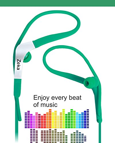 Sports Fitness / GYMING / Workout In-Earbuds Earphones Headset Compatible For Samsung Galaxy Note 5 32 GB Dual Sim -Green  available at amazon for Rs.270