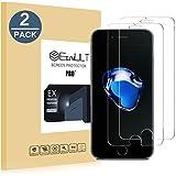 EasyULT Verre Trempé iPhone 7/iPhone 8[2-Pièces],iPhone 7/iPhone 8 Verre Trempé Protection écran Protecteur d'écran Résistant aux éraflures,iPhone 7/8 Vitre Film Glass Screen Protector