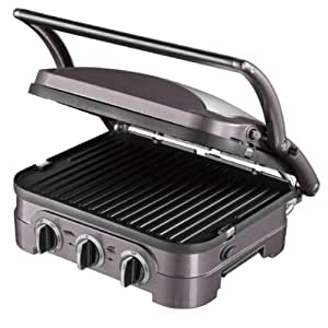 Cuisinart GR40E The Griddler: Plan de cuisson multifonctions Grill Plancha Barbecue Panini– 1600W
