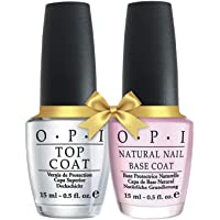 O.P.I Base Coat + Top Coat
