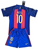 MESSI 10 Barcelona Soccer Jersey Home 2016/2017 Kid's Size L - 8 - 9 Years Old
