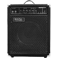 "Rocktile SB-30 SuperBass30 Bassamp 30 Watt (Bassverstärker Combo, 10"" Speaker, 30W RMS, 3 Band EQ, Anschluss Kopfhörer, Effektschleife, Instrumenteneingänge Passive & Active)"