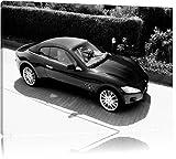 Maserati Bild auf Leinwand, XXL riesige Bilder fertig gerahmt mit Keilrahmen, Kunstdruck auf Wandbild mit Rahmen, guenstiger als Gemaelde oder Bild, kein Poster oder Plakat, Format:60x40 cm