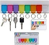 Schlüsselbrett mit 8 Schlüsselschilder Schlüsselanhänger Schlüssel Halter