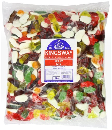 Kingsway Jelly Mix 3kg-Pack