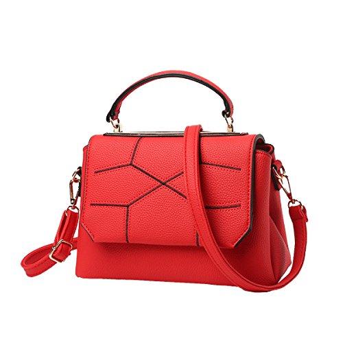 Yy.f Neues Frauschulterbeutel Art Und Weisehandhandtasche Paket Kurierbeutel Wildes Pack Multicolor Brown