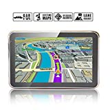 Noza Tec 5 inch 8GB Sat Nav Car GPS with UK Ireland Europe Maps and Lifetime Free Update