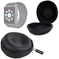DURAGADGET Funda Para Smartwatch Mobiper G08 / Wiseup GT08 - ¡Perfecto Para Guardar Su Dispositivo! - Negra