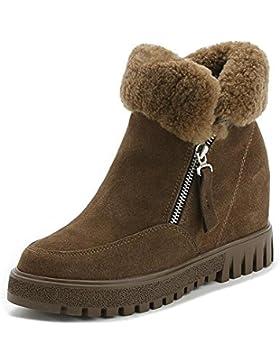 MEILI-modelli invernali donne più caldo velluto e stivali confortevoli all'interno delle Martin lana stivali cotone…