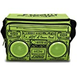 Fydelity Coolio Cooler - Bolsa nevera portátil con altavoces estéreo integrados, color verde [Importado de Francia]