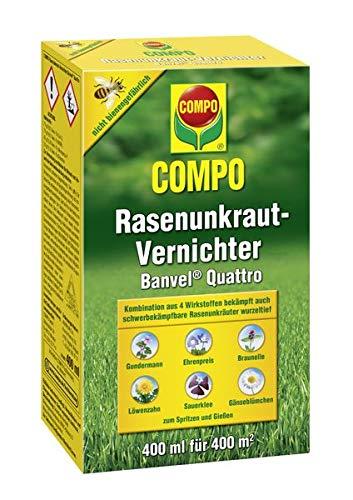COMPO Rasenunkraut-Vernichter Banvel ® Quattro 400 ml