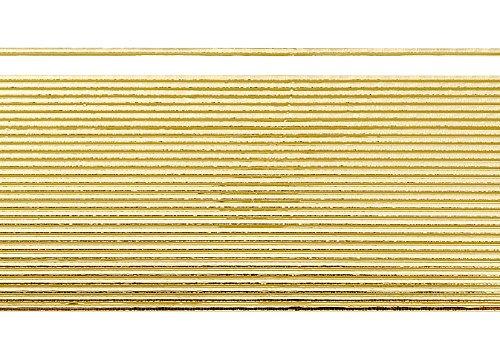 Wachsstreifen / Verzierwachs 'Gold (glanz)' (30 Stück / 20 cm x 1 mm) TOP QUALITÄT
