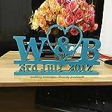 Unbekannt Größe Elegant Hochzeit Save the date–Foto Prop Schild Hochzeit Einladung–Hochzeit Foto Prop Bridal Dusche Geschenk, rustikal Hochzeit, 34cm X20cm X1.5cm