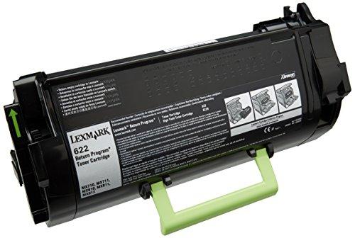 Preisvergleich Produktbild LEXMARK 622 Toner schwarz Standardkapazität 6.000 Seiten 1er-Pack return program
