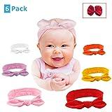 Baby Girl Rabbit-Ear Knot Turban Headbands