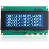 SODIAL(R) HD44780 Pantalla LCD Modulo Letras Blancas 20x4 Retroiluminado