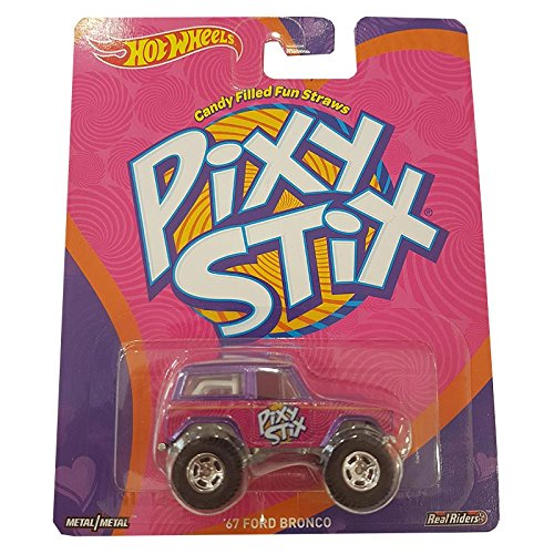 Hot Wheels '67 Ford Bronco Pixy Stix (Real Riders & Metal/Metal)