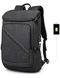 d8a0ee33dd10e ZLHW Laptop Rucksack Anti Diebstahl wasserdicht Mode Schule Computer Slim  Rucksack mit USB…