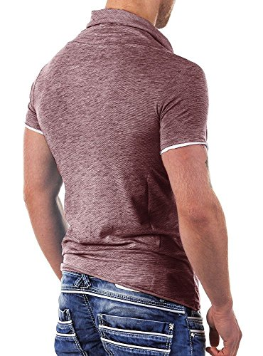 Redbridge by Cipo & Baxx Herren Shirt R-4T1223 Bordeaux