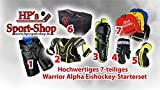 Warrior ALPHA Eishockey Starterset Junior zum Monsterpreis, Größe:Junior L