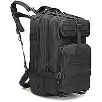 Eyourlife Sac à Dos Tactique 40L Sac de Randonnée Backpacks Multifonctionnel Camouflage Militaire Sac d'Alpinisme Camping Voyage Sac Classique 40L RFID Blocage