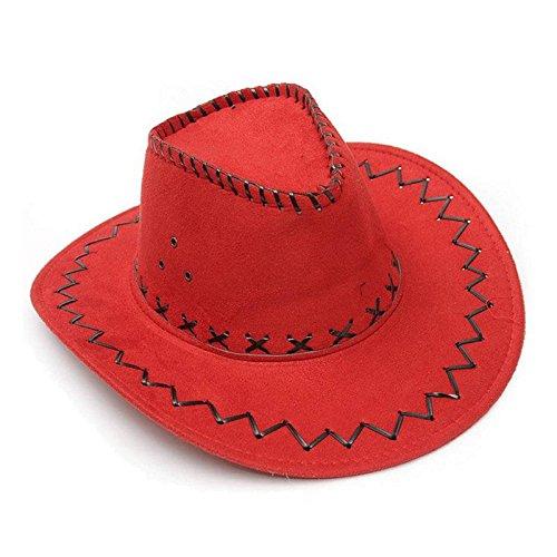 Cappello Bambino Bambina Bimbi Cowboy Scamosciato Carnevale Festa Party Hut9 Clothing, Shoes & Accessories