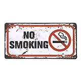 66Retro nicht rauchen, Vintage Retro Metall blechschild, Wand Deko Schild, 30cm x 15cm