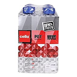 A Wonderful Cello Pet Fridge Bottle Capacity 1 L, 6N,Colors may vary as per availability .