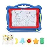 EleLight Löschbares Reißbrett für Kinder Zeichenbrett Magnetische Groß bunt mit Magnetstift mit licht und Musik für Kinder ab 3+