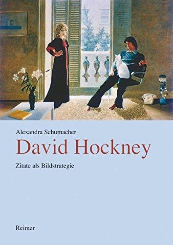 David Hockney. Zitate als Bildstrategie Buch-Cover