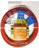 Smartcom - Kit di relè a ripartizione di carica per rilevamento della tensione, kit di ricarica per officine, alimentazione 12V a 30A
