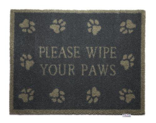 HugRug Fußmatte Barrier Mat Hundepfoten - 65 x 85 cm - waschbar - Schmutzfangmatte