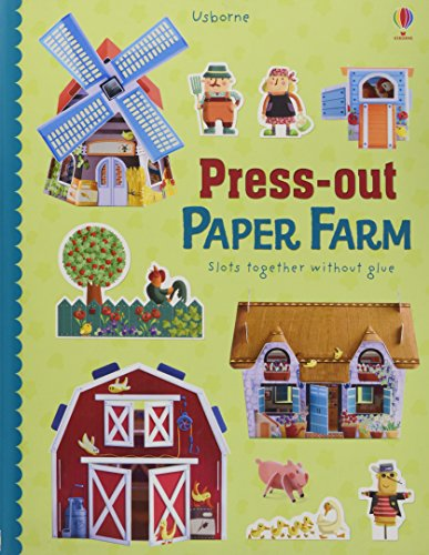 Insel Bauernhof (Press-Out Paper Farm (Press-outs))