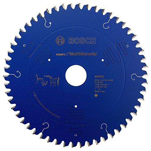 Bosch Professional Kreissägeblatt Expert für Multi Material, 210 x 30 x 2,4 mm, 54, 2608642492
