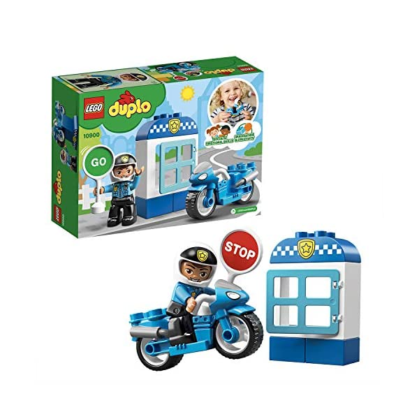 LEGO Duplo - Moto della Polizia, 10900 1 spesavip
