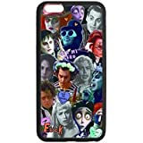 Johnny Depp Jack Sparrow Pirates Of The Carribean Custom Luxury Cover Case For Funda phone 6 By Cell-Plus Case (Laser Technology)