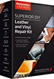#9: Superior Leather and Vinyl Repair and Restoration Kit - DIY Kit for Scratch, Crack, Patch, Recoloring - Tear and Restoration of Upholstery, Car Seat, Shoe, Furniture and More by Restoration Leather