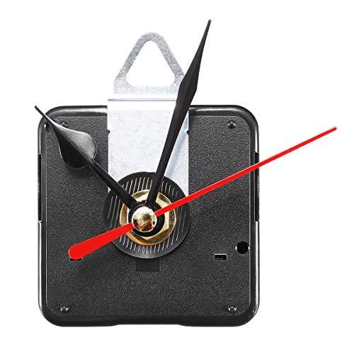 Global Brands Online Quarz Still Uhrwerk Mechanismus Modul DIY Satz Stunde Minute Sekundenzeiger rot