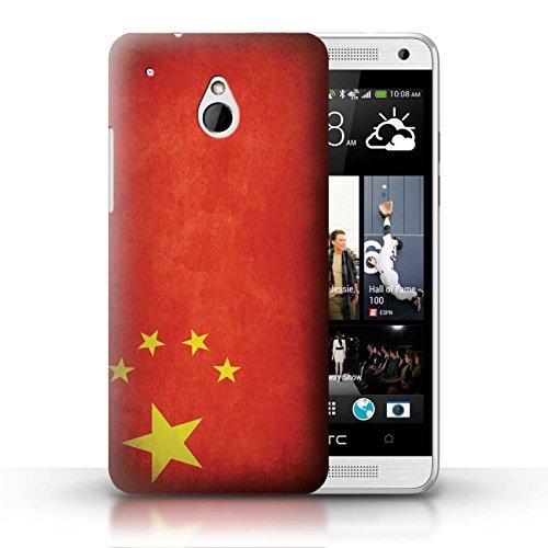 Kobalt® Imprimé Etui / Coque pour HTC One/1 Mini / Pays de Galles/gallois conception / Série Drapeau Chine/chinois