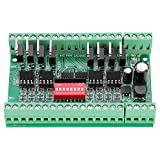 Convertidor de nivel de conversión de señal de onda cuadrada de 10MHZ de 8 canales NPN/PNP a NPN 5V / 24V Convertidores de nivel